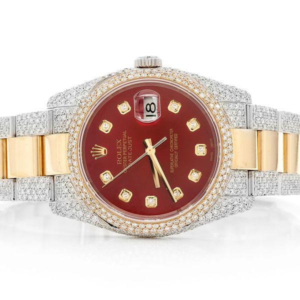 Rolex Datejust 11.69ctw 18K/SS