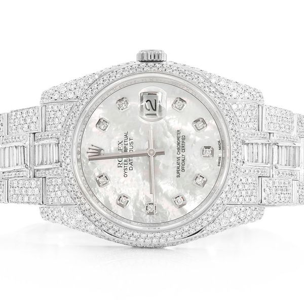 Rolex Datejust Steel  16.00ctw