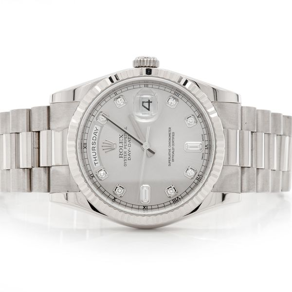 Pre-owned Rolex Presidential 36MM 18K