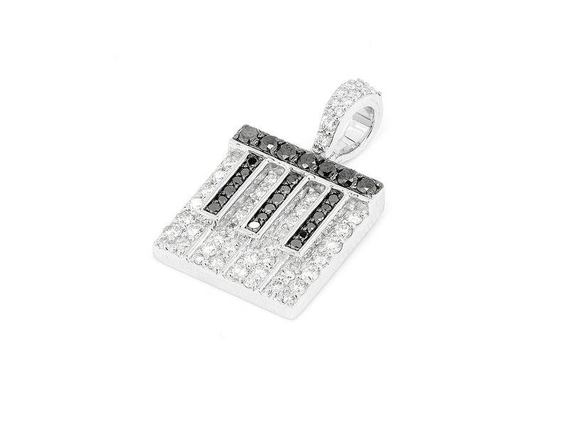 Piano Pendant 14K   0.73ctw