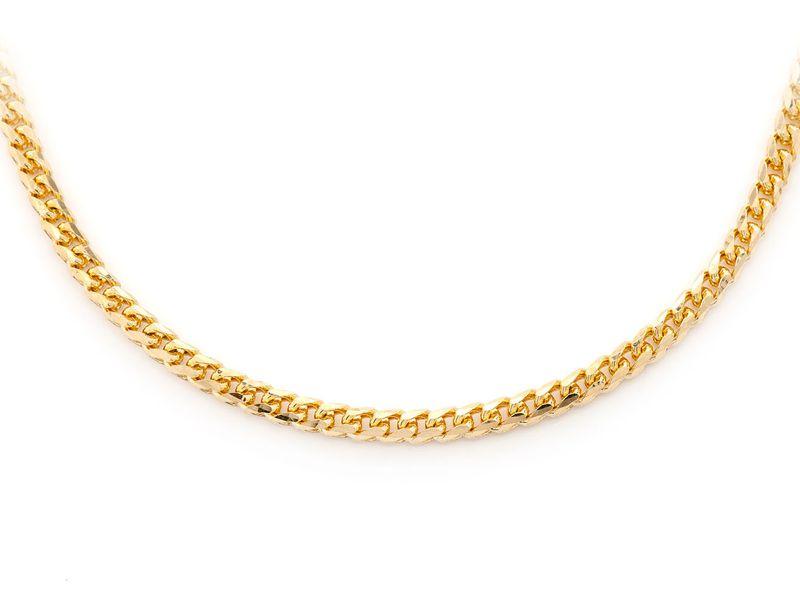 3mm Franco 14K   Bracelet