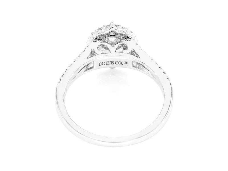 Three Layer Marquise Ring 14K   0.75ctw