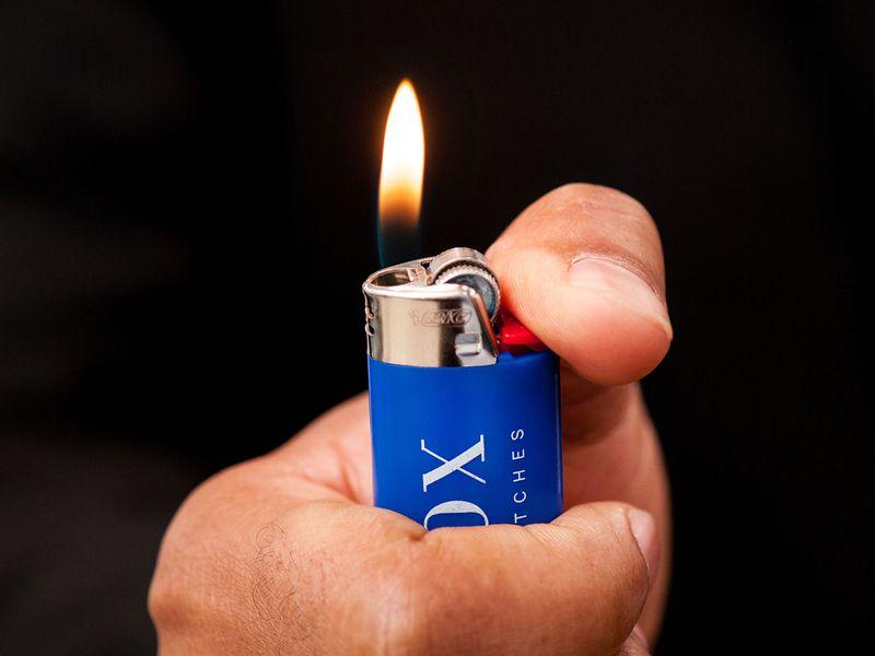 3 Icebox Blue Lighters