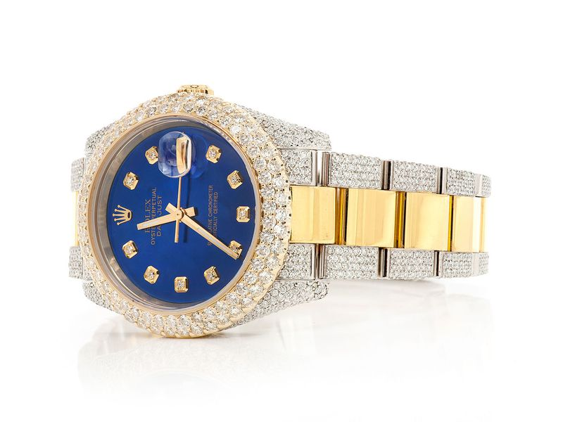 Pre-owned  Datejust 36mm  18K/SS  14.19ctw
