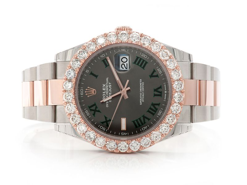 Pre-owned  Datejust 41MM 18K SS  6.25ctw