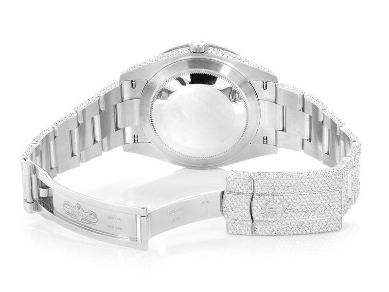 Rolex Datejust Steel  23.54ctw