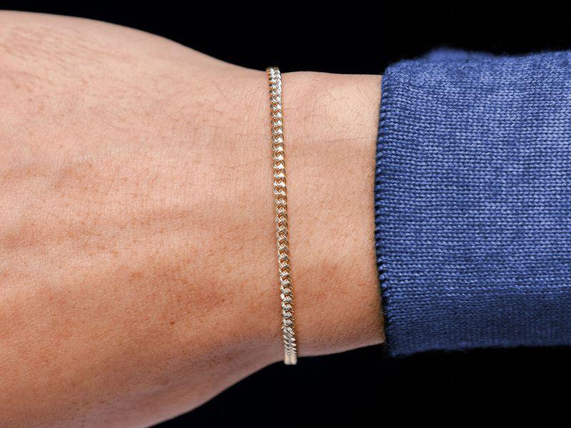 2.5mm Miami Cuban 14K   Bracelet