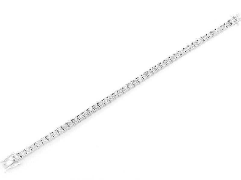 9pt Miracle Bracelet 14K   3.50ctw