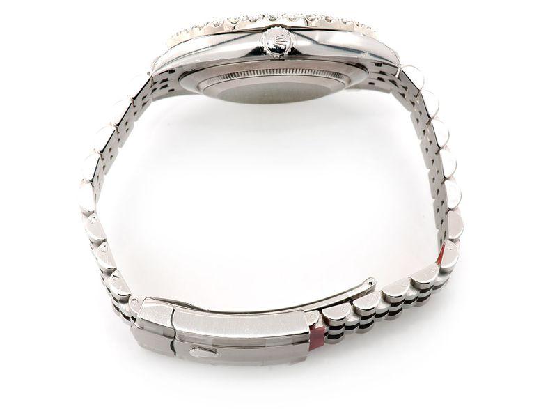 Rolex Datejust 4.89ctw Steel