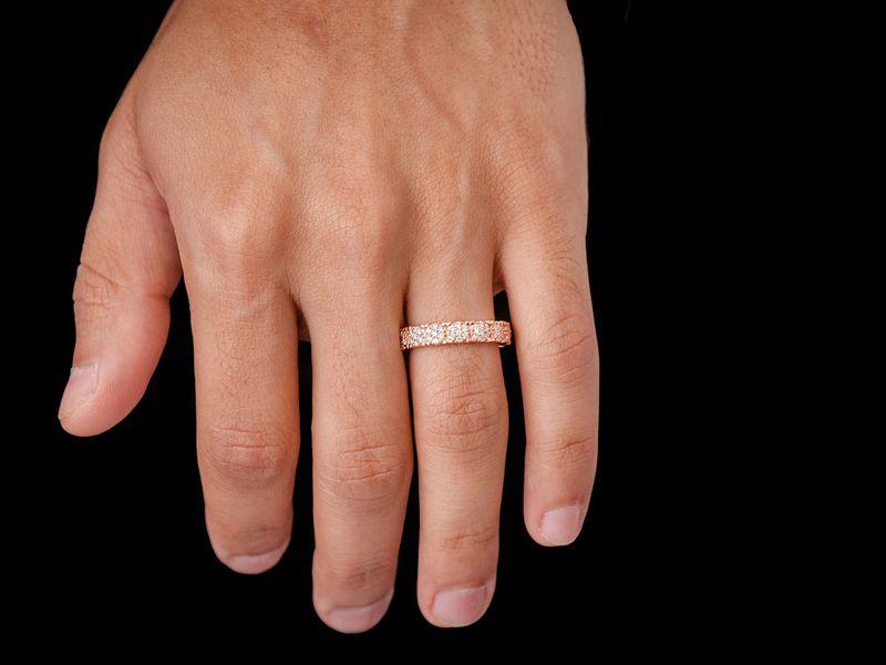 Briar Cluster Ring 14K   0.57ctw