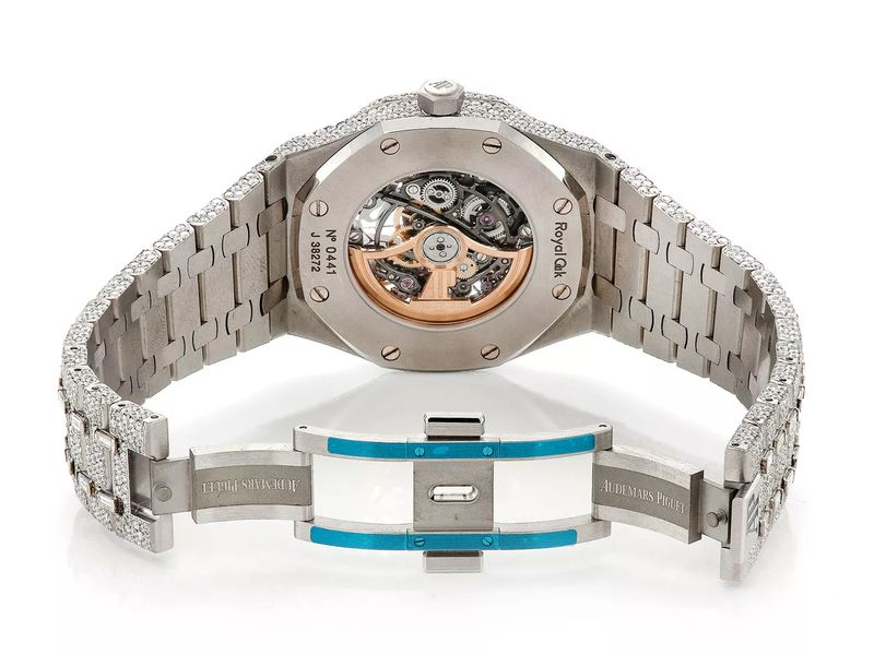 Audemars Piguet Royal Oak St.Steel  35.15ctw
