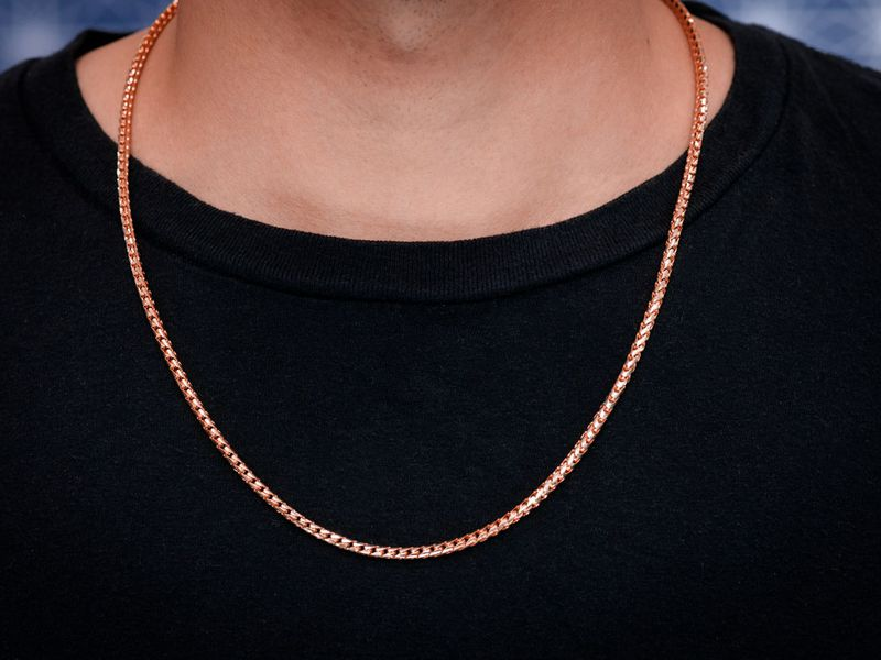 3.5mm Franco 14K   Chain
