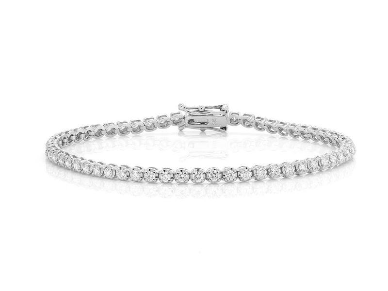 Tennis Bracelet 14K   1.82ctw