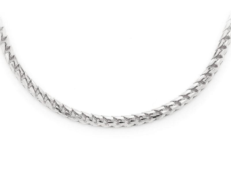 3.5mm Franco 14K   Bracelet