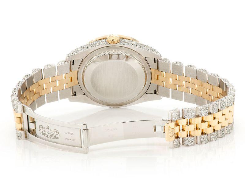 Rolex Datejust 13.73ctw 18K