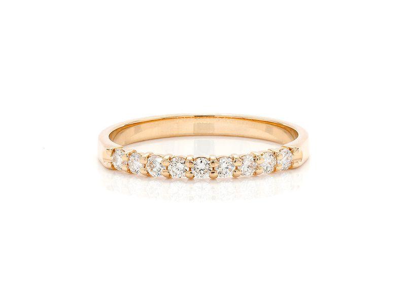 Nine Stone Ring 18K   0.28ctw