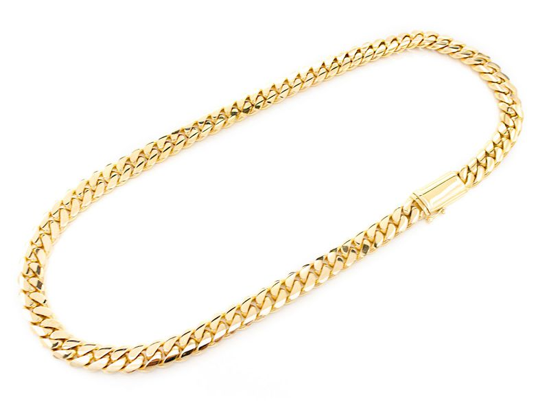 12mm Miami Cuban 14K   Chain