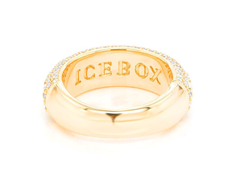 Bumble Band Ring 14K   2.13ctw