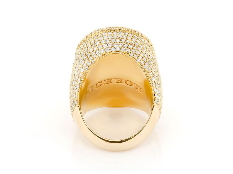 Large Oval Ring 14K   7.83ctw