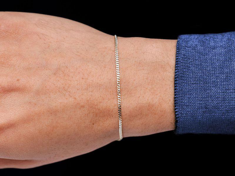 1.5mm Miami Cuban 14K   Bracelet