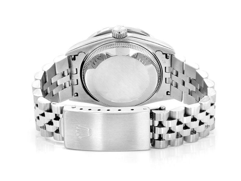 Rolex Datejust Steel  1.58ctw