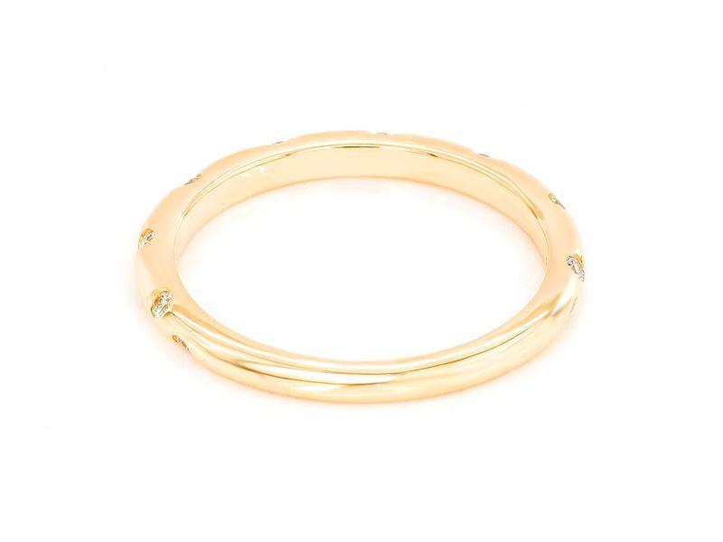 Darla Gypsy Set Band Ring 1.9g   0.16ctw