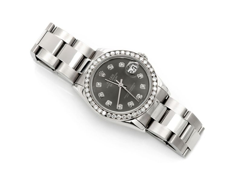 Rolex Datejust 1.12ctw Steel