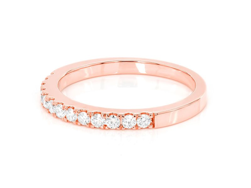 Single Row Diamond Ring 14K   0.33ctw