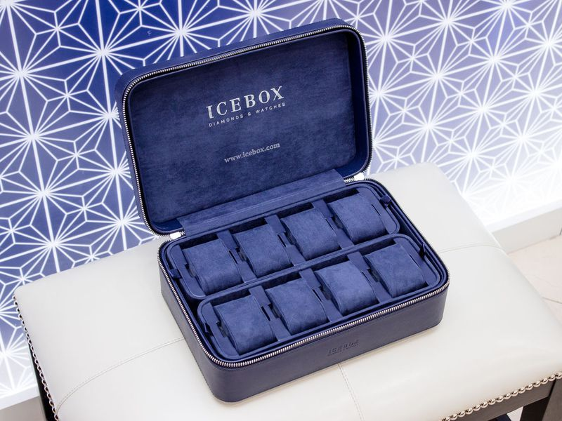 Icebox World Travelers Watch  Case   Materials