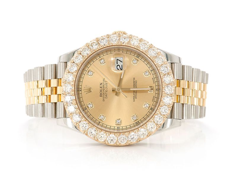 Pre-owned  Datejust 41mm  18K  6.14ctw