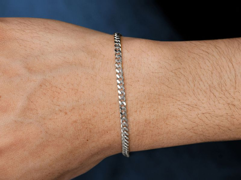 3.5mm Miami Cuban 14K   Bracelet