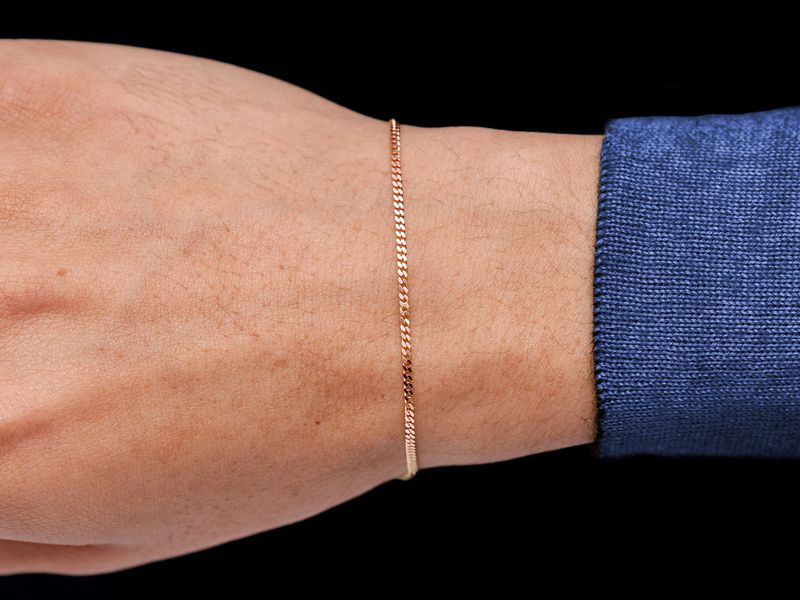 1.5mm Miami Cuban 14K   Bracelet