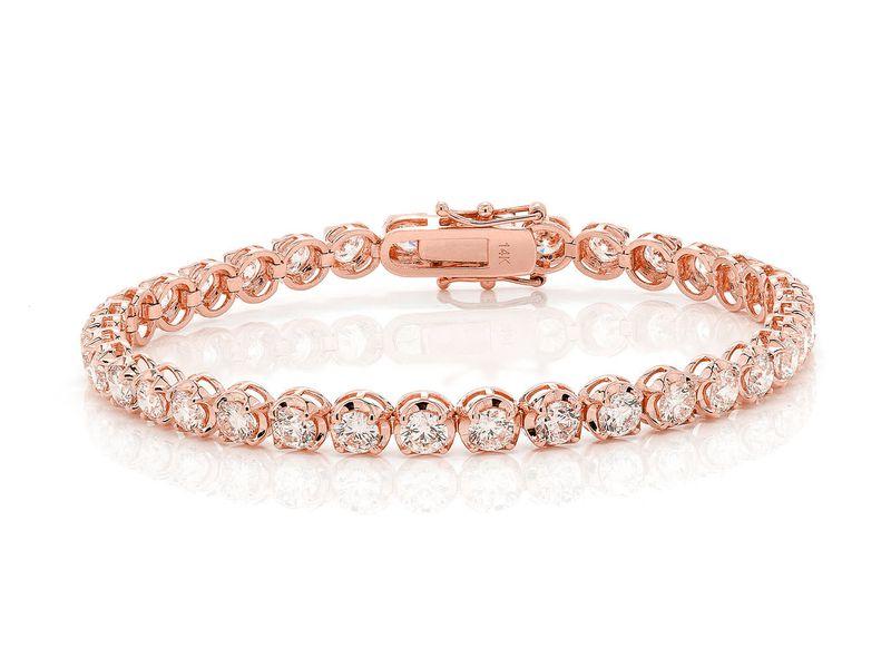Tennis Bracelet 14K   9.50ctw