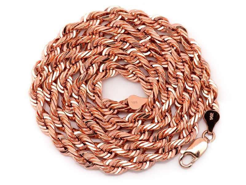 5.5mm Rope 14K   Chain