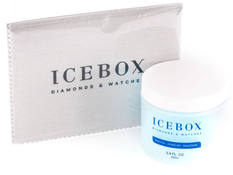 Icebox Jewelry Cleaner & Cloth