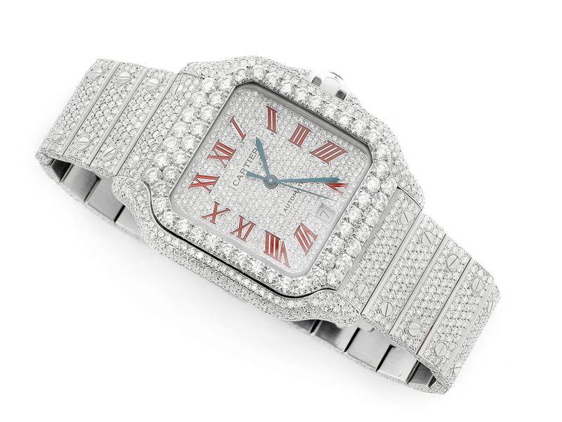 Cartier Watch Steel  27.44ctw