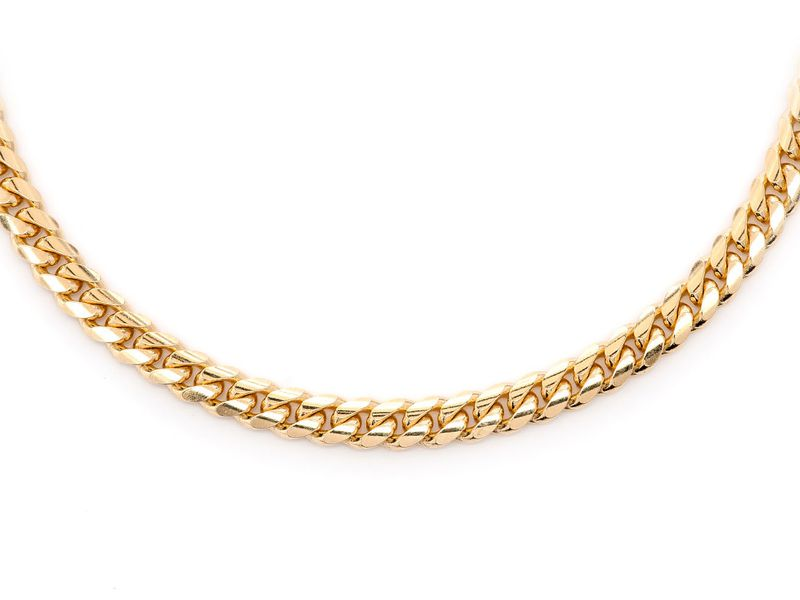 4mm Miami Cuban 14K   Chain