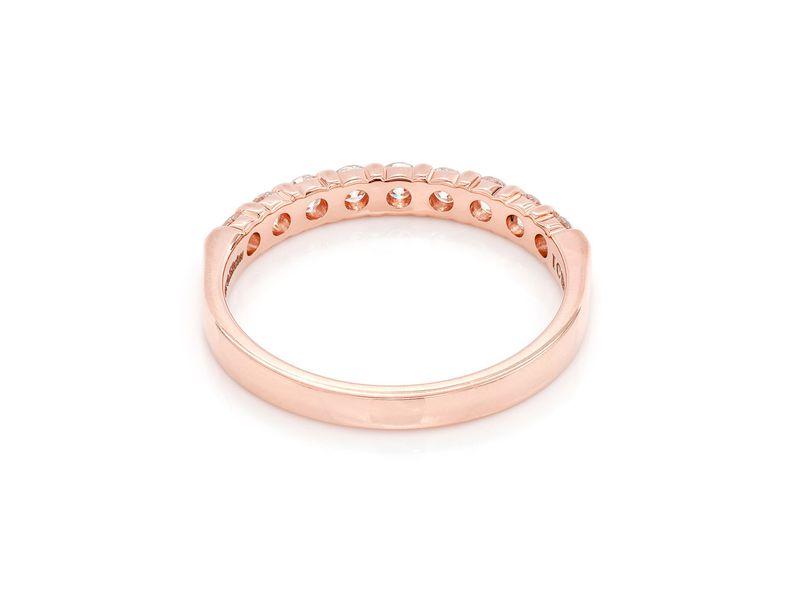 Nine Stone Ring 18K   0.52ctw
