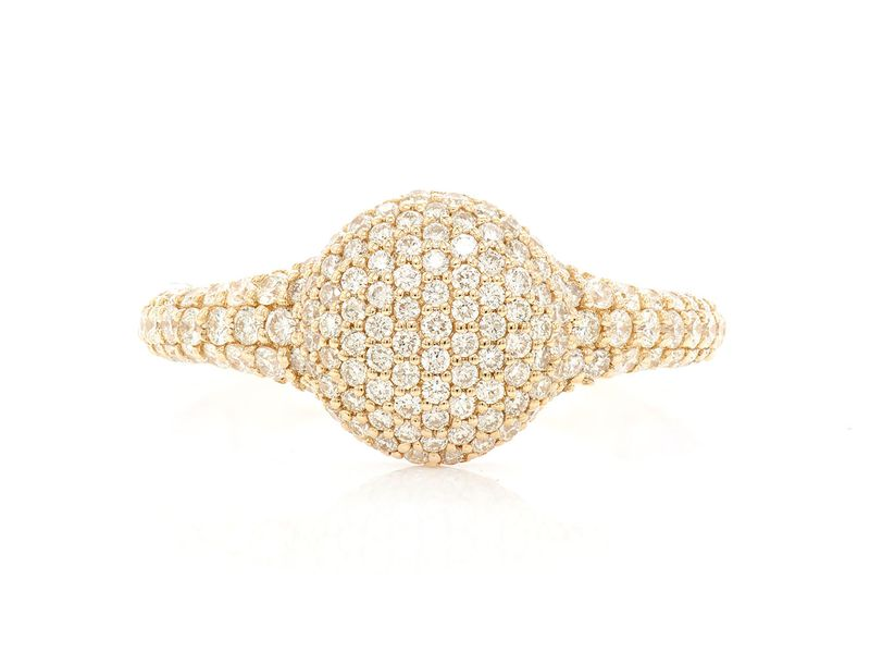 Pave Dome Tasha Collection  Ring 14K   1.25ctw