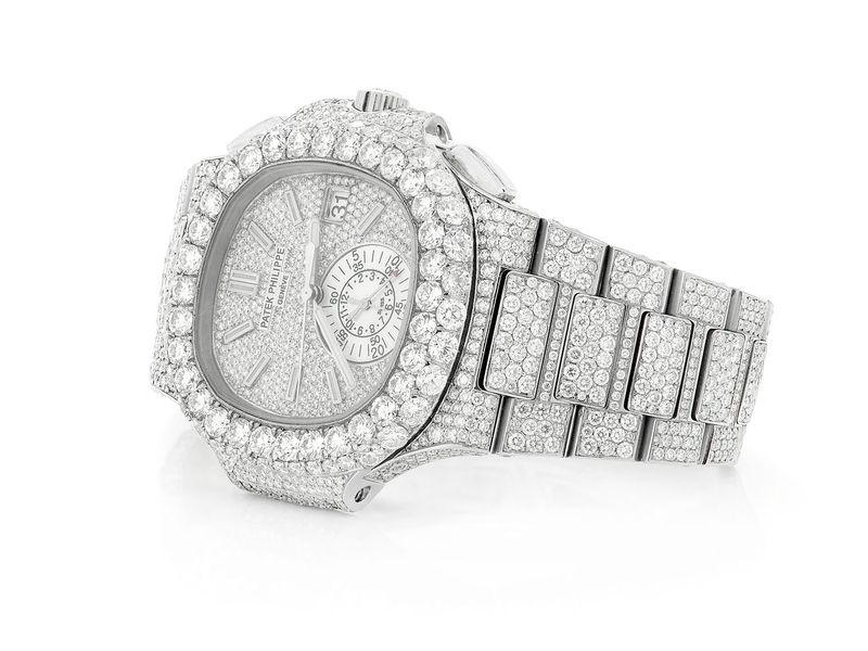 Custom Patek Philippe Iced Out -  Male -