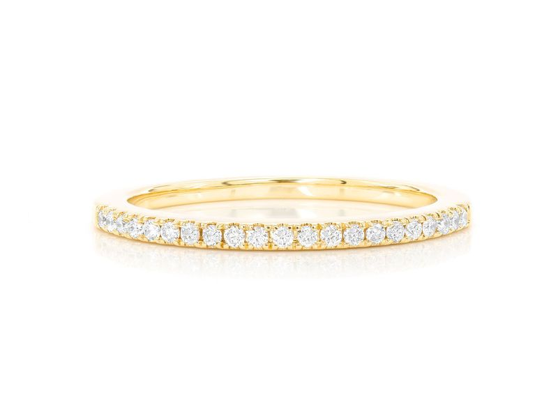 Single Row Diamond Ring 14K   0.25ctw