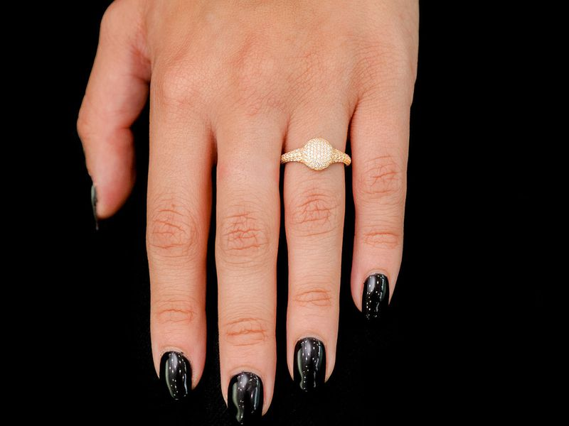 Dome Ring 14K   1.25ctw