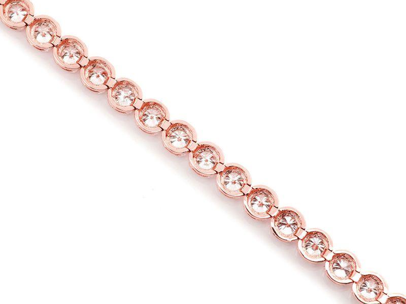 Tennis Bracelet 14K   6.30ctw