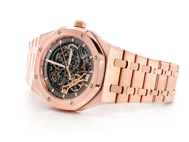 Audemars Piguet Royal Oak Skeleton Plain 18K