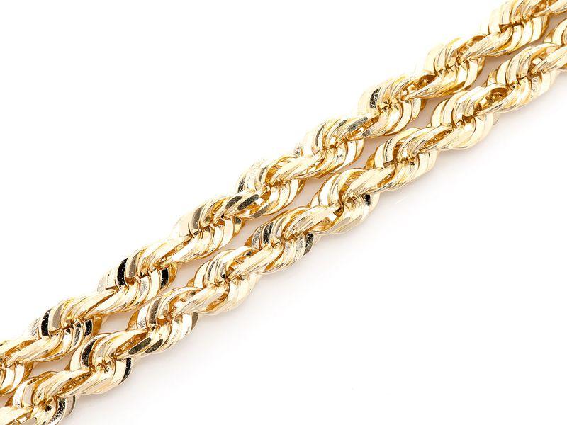 6mm Rope 14K   Bracelet