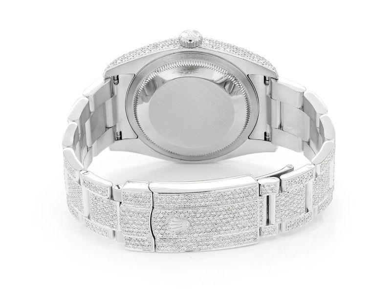 Rolex Datejust 14.44ctw Steel