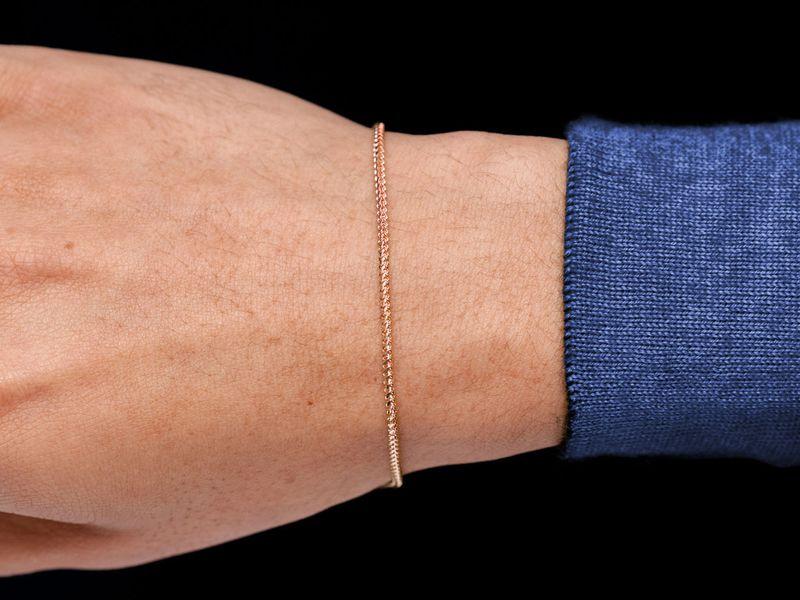 1.75mm Franco 14K   Bracelet