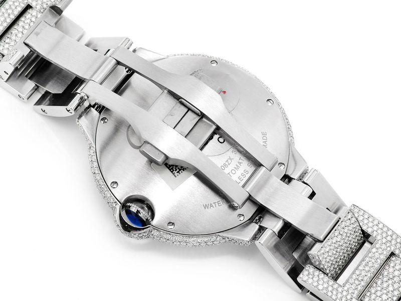 Cartier Baloon Bleu Steel  16.89ctw
