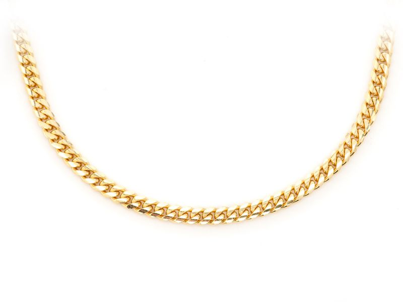 3mm Miami Cuban 14K   Chain