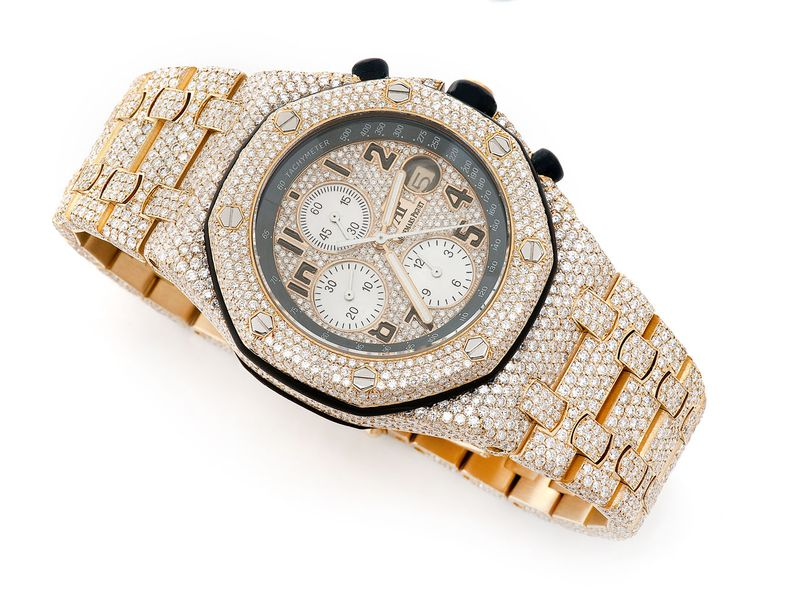 Audemars Piguet Royal Oak Chronograph Iced Out